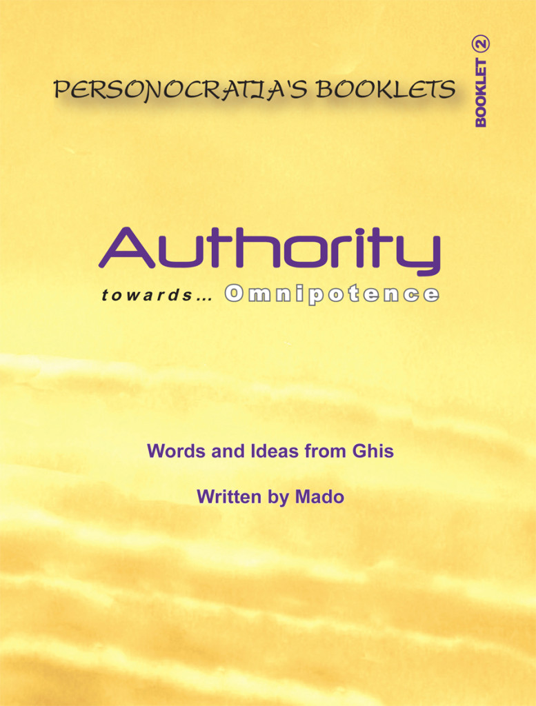 Booklet Authority- Cover