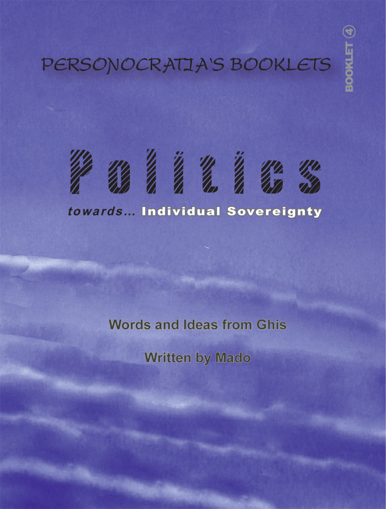 Booklet Politics- Cover