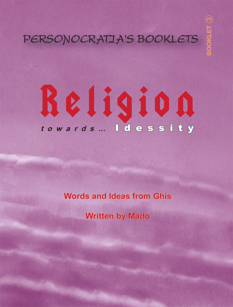 Booklet Religion- Cover