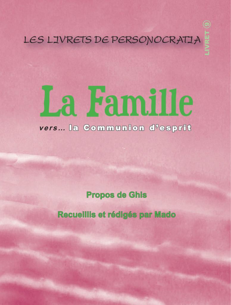 Livret La Famille- Plat de couverture