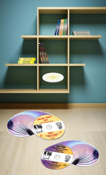 Ouverture DVD vertical