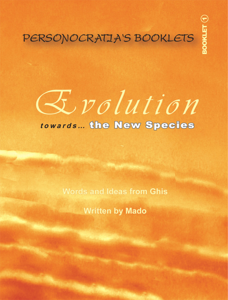 Booklet Evolution- Cover