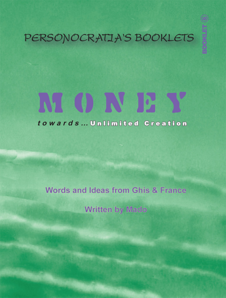Booklet Money- Cover