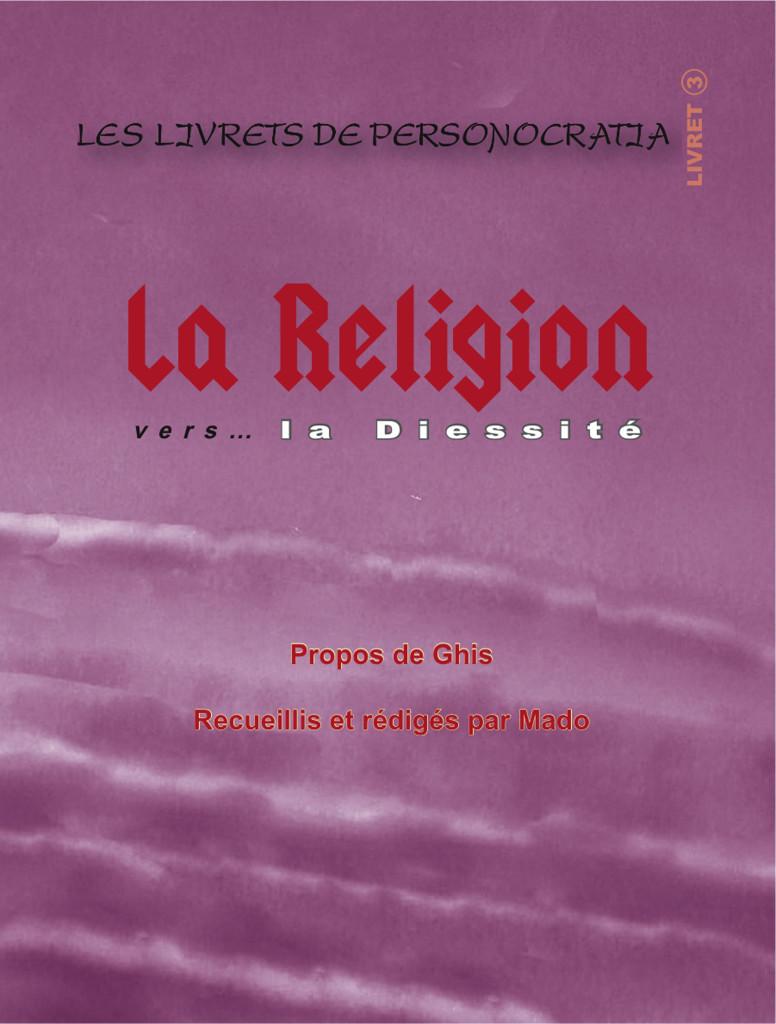 Livret La Religion- Plat de couverture