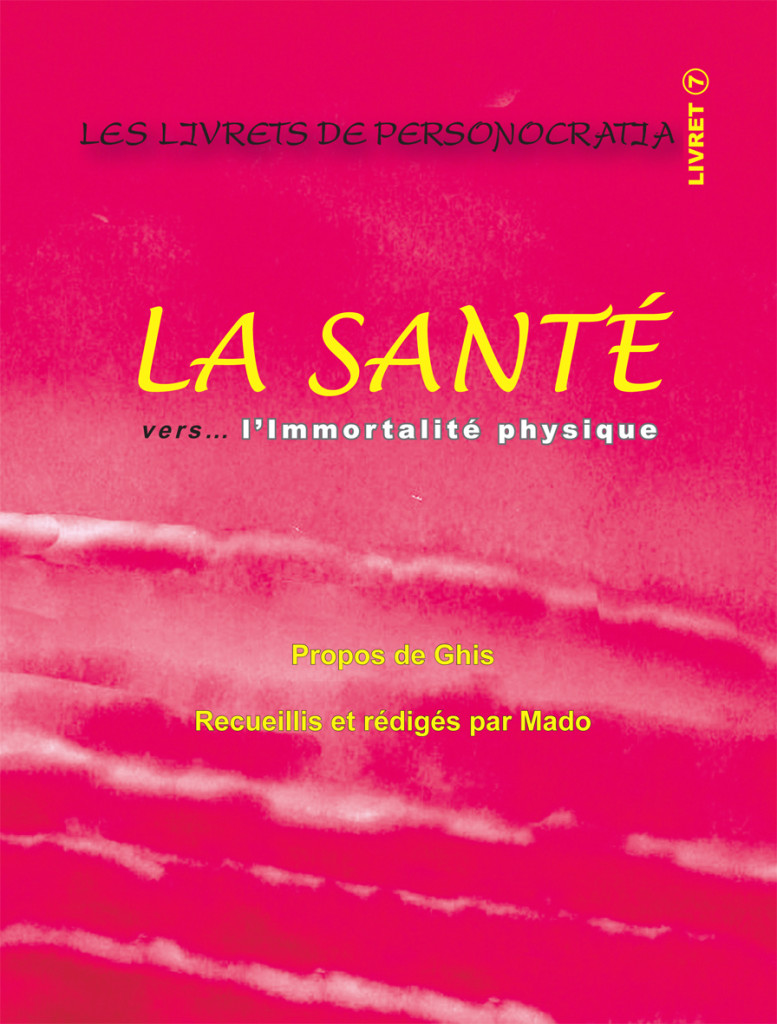 Livret La Sante- Plat de couverture